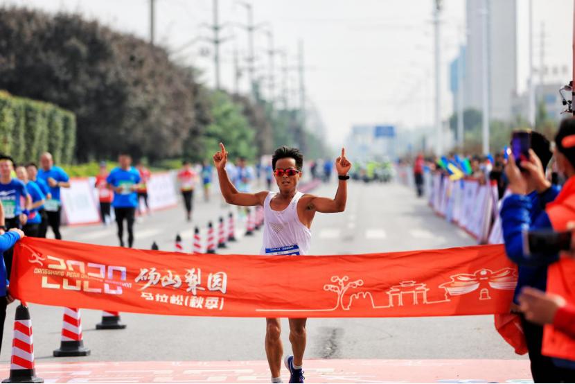 2020砀山梨园马拉松(采梨节)火热开赛